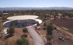 """Tham quan trụ sở """"tàu vũ trụ"""" của Apple đang gần được hoàn thiện 1 tháng trước khi iPhone 8 ra mắt"""