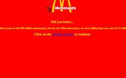 So sánh giao diện của những website nổi tiếng: ngày xưa và bây giờ