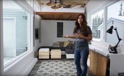Căn nhà diện tích bé xíu đã khiến blogger này nghĩ ra ý tưởng tiết kiệm không gian độc đáo: lắp thang máy cho giường