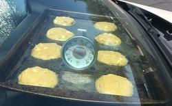 Mỹ: Đồ đạc ngoài trời tan chảy, nướng được bánh trong xe ô tô dưới cái nóng 49 độ