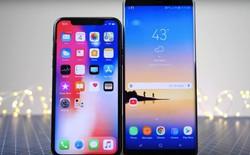 Galaxy Note8 đè bẹp iPhone X và Pixel 2 trong thử nghiệm khả năng chống rung quang học