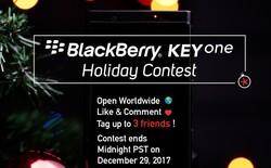 BlackBerry đang tặng miễn phí KEYone Black Edition giá 16 triệu đồng cho fan may mắn, cách tham gia cực kỳ đơn giản