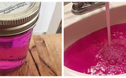 Người dân Canada tá hỏa khi nguồn nước của họ đột nhiên chuyển thành màu hồng