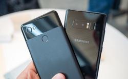 So sánh Samsung Galaxy Note8 và Google Pixel 2 XL: ai mới xứng làm vua thế giới Android?