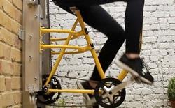 Thang máy chạy bằng cơm phiên bản xe đạp sẽ đưa bạn lên một tầng cao mới, theo đúng nghĩa đen
