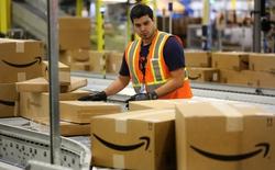 Amazon đang có hơn 540.000 nhân viên, vượt xa Microsoft và Google