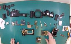 Đây là cách mà người ta thay màn trập cho máy ảnh DSLR: phức tạp lắm chứ chẳng đùa!