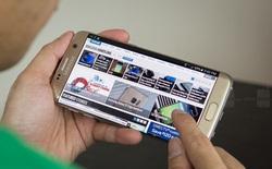 Lại đến Galaxy S7 edge gặp lỗi xuất hiện sọc màu hồng trên màn hình