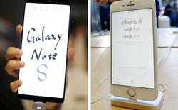 Samsung Galaxy Note8 vượt mặt iPhone 8 trên thị trường Ấn Độ