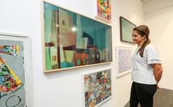 Samsung hợp tác với Saatchi Art mở triển lãm tranh tại lễ hội thiết kế London để trình diễn khả năng của TV The Frame