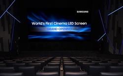 Samsung muốn xóa bỏ rạp phim máy chiếu truyền thống bằng màn hình LED Cinema 4K đầu tiên trên thế giới