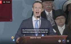 Mark Zuckerberg biểu diễn tính năng chuyển giọng nói thành văn bản để livestream diễn văn Tốt nghiệp, kết quả thì ôi thôi thảm họa không tin được