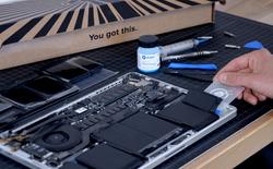 Sau 5 năm trời, cuối cùng người ta đã tìm ra cách tháo gỡ pin MacBook khỏi vỏ dễ dàng
