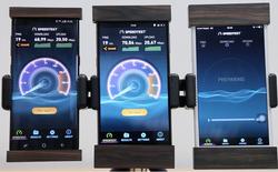 Xuất hiện Video test tốc độ download, upload 4G với Bphone 2