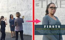Bạn sẽ không tin ảnh bìa trên tạp chí Time lại được chụp bằng iPhone, trong đó có cả iPhone 5