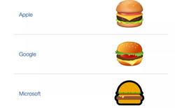 Google tạo ra chiếc bánh kẹp y hệt như emoji burger kỳ lạ của hãng nhằm đáp trả những chỉ trích đến từ dư luận
