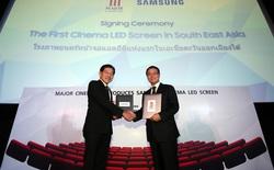 Samsung vừa mang chiếc màn hình LED Cinema tới Đông Nam Á, đầu tiên là Thái Lan