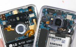 """Sau Galaxy S8, LG G6 tiếp tục được """"lột trần"""" mặt lưng trở nên trong suốt"""