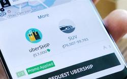 UberShip, dịch vụ giao hàng thử nghiệm của Uber, triển khai tại TP.HCM