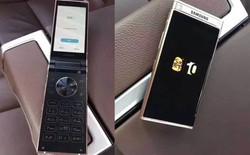 Tiếp tục rò rỉ hình ảnh mới chiếc flagship phone nắp gập của Samsung