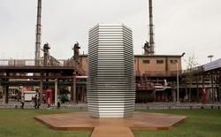 Tháp hút sương mù, lọc không khí thành kim cương của Trung Quốc sẽ tiếp tục được sản xuất thêm vào cuối năm nay