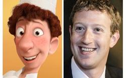 Thật thú vị khi các nhân vật phim hoạt hình lại giống với người thật ngoài đời đến vậy