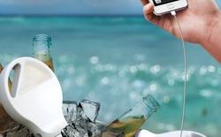 Chiếc sạc điện thoại đến từ Hàn Quốc này có thể hoạt động mãi mãi chỉ với nước sôi và đá lạnh