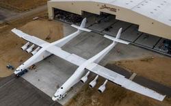Đồng sáng lập Paul Allen hé lộ những hình ảnh đầu tiên của chiếc máy bay lớn nhất thế giới
