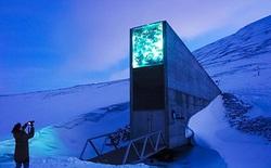 Hầm tận thế Svalbard ở Bắc Cực đã bị băng tan gây ngập lụt và bịt kín lối vào