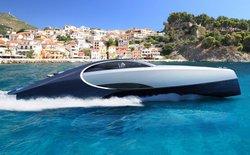 Nếu bạn đang sở hữu siêu xe Bugatti Chiron, hãy bỏ thêm tiền mua chiếc du thuyền này cho hợp bộ