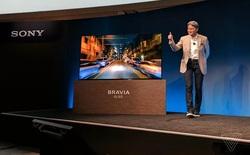 [CES 2017] Sony ra mắt TV OLED 4K màn siêu nét thách thức LG, tích hợp cả loa vào... màn hình