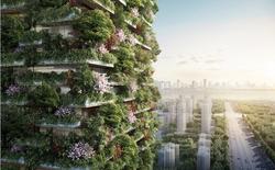 """Không khí bị ô nhiễm đến mức báo động, Trung Quốc đang xây """"thành phố ăn sương"""" với những tòa nhà chọc trời phủ đầy cây xanh"""