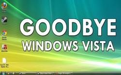 Đã đến lúc nói lời tạm biệt với Windows Vista
