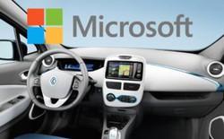Thông qua thương vụ với liên minh Renault - Nissan, Microsoft ra mắt phần mềm mới cho ô tô