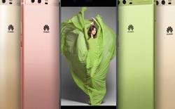 Màu Xanh lá Greenery trên Huawei P10 được lựa chọn là màu của năm 2017