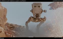 Bạn sẽ ngỡ ngàng khi biết rằng những hình ảnh trông như thật này lại là từ game Star Wars Battlefront