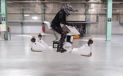 Cùng ngắm nhìn chiếc xe bay trong tương lai đã xuất hiện ngoài đời thực
