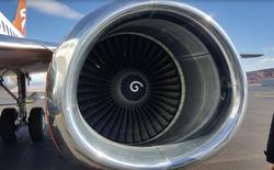 Bạn có biết công dụng của những vòng xoáy nhỏ được vẽ trên động cơ máy bay không?
