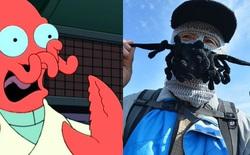 Trung Quốc: Xuất hiện loại mũ trùm đầu có râu dành riêng cho mùa đông, đeo vào giống hệt Dr. Zoidberg