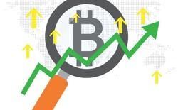 """Từ khóa """"Bitcoin"""" được tìm kiếm trên Google tăng gấp 1000% trong năm 2017"""