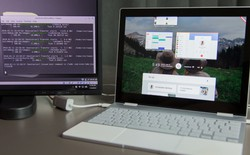 [Video] Những hình ảnh đầu tiên của hệ điều hành Google Fuchsia bản thử nghiệm trên Pixelbook
