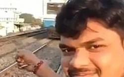 Đứng selfie ngay sát đoàn tàu đang lao ầm ầm tới, người đàn ông phải nhận kết cục đau đớn