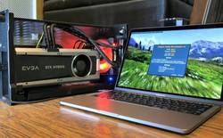 Macbook Pro hỗ trợ GPU gắn ngoài tốt hơn, có khả năng cắm là chạy trong bản cập nhật macOS mới