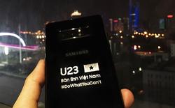 Samsung tặng Galaxy Note8 bản đặc biệt cho đội tuyển U23 Việt Nam
