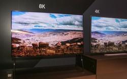 TV 8K sẽ được bán ra trong năm nay, nhưng bạn phải đợi đến năm 2025 mới được xem các nội dung 8K thực sự