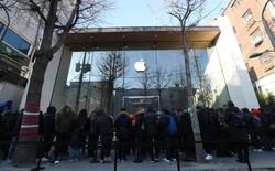 Những hình ảnh về cửa hàng chính hãng đầu tiên của Apple tại quê nhà Samsung