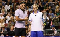 Bill Gates sẽ đánh cặp cùng Roger Federer trong một trận tennis gây quỹ từ thiện