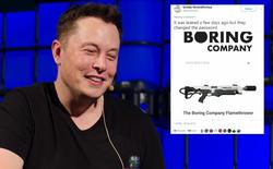 Elon Musk đã bán được 10.000 súng phun lửa trong vòng 48 giờ, thu về hơn 5 triệu USD