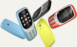 """""""Cục gạch"""" Nokia 3310 có phiên bản mới hỗ trợ 4G, phát Wi-Fi, chạy hệ điều hành Yun OS, giá bán 60 usd"""