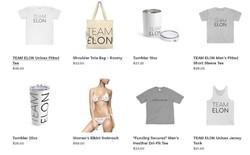 """Cửa hàng trực tuyến """"Save Elon"""" bán túi vải, đồ bơi và cốc để quyên góp cho Elon Musk, sau khi phải bồi thường 20 triệu USD"""